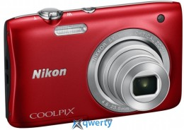 NIKON COOLPIX S2900 RED
