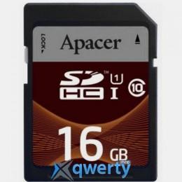 Apacer SDHC UHS-I Class10 16GB RP (AP16GSDHC10U1-R)