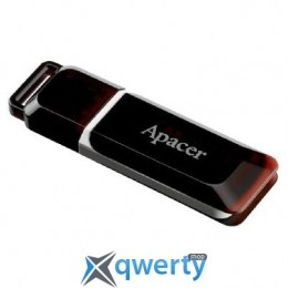 Apacer Handy Steno AH321 black-red (AP16GAH321R-1)