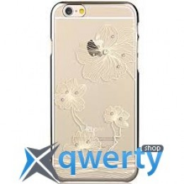 COMMA Crystal Flora with original Swarovski Element For iPhone 6 Gold