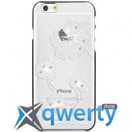 COMMA Crystal Flora with original Swarovski Element For iPhone 6 Silver