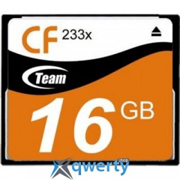 Team 16GB Compact Flash 233x (TCF16G23301)