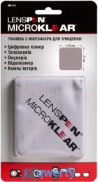 LENSPEN MK-2-G MICROKLEAR MICROFIBRE SUEDE CLOTH