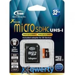 Team 32Gb microSDHC UHS-I (TUSDH32GUHS03)