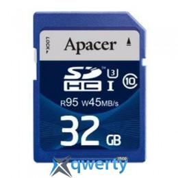 Apacer 32GB SDHC UHS-I 95/45 Class10 (AP32GSDHC10U3-R)