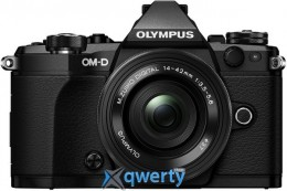 OLYMPUS E-M5 MARK II PANCAKE ZOOM 14-42 KIT BLACK/BLACK Официальная гарантия!
