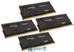 Kingston DDR4-2400 16384MB (Kit of 4x4096) PC4-19200 HyperX Predator (HX424C12PB2K4/16)