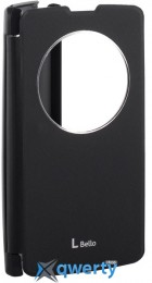 VOIA LG Optimus L80+ Dual (D335/Bello) - Flip Case (Black)
