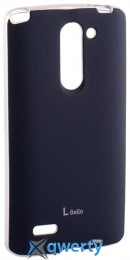 VOIA LG Optimus L80+ Dual (D335/Bello) - Jell Skin (Navy)