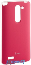 VOIA LG Optimus L80+ Dual (D335/Bello) - Jell Skin (Pink)