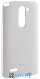 VOIA LG Optimus L80+ Dual (D335/Bello) - Jell Skin (White)