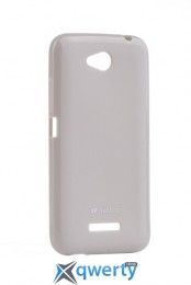 MELKCO HTC Desire 616 Poly Jacket TPU Gray
