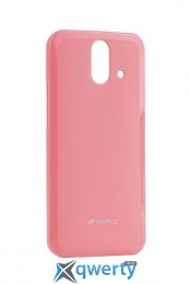 MELKCO HTC One E8 Poly Jacket TPU Pink
