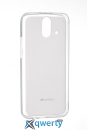 MELKCO HTC One E8 Poly Jacket TPU Transparent