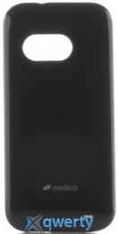MELKCO HTC One M8 Mini Poly Jacket TPU Black
