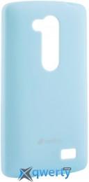 MELKCO LG L70+ Fino/D295 Poly Jacket TPU Blue