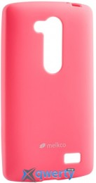 MELKCO LG L70+ Fino/D295 Poly Jacket TPU Pink