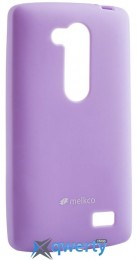 MELKCO LG L70+ Fino/D295 Poly Jacket TPU Purple