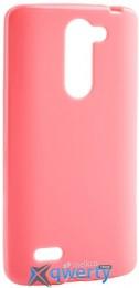 MELKCO LG L80+ Bello/D335 Poly Jacket TPU Pink