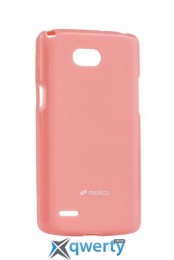 MELKCO LG L80 Dual/D380 Poly Jacket TPU Pink