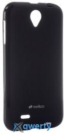 MELKCO Lenovo A850 Poly Jacket TPU Black