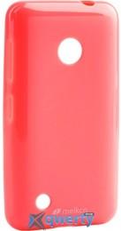 MELKCO Nokia Lumia 530 Poly Jacket TPU Pink
