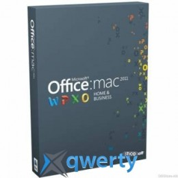 Microsoft Office для Mac для дома и бизнеса 2011 Russian DVD BOX (W6F-00211)