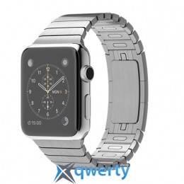 Apple Watch 38mm Stainless Steel Case with Stainless Steel Link Bracelet (MJ3E2LL/A)