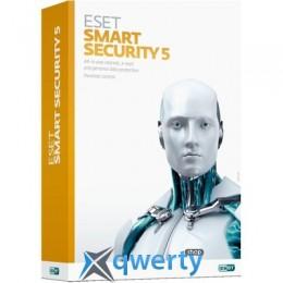 Eset Smart Security v.6, 32-bit, Rus, 1pk DVD, 2 комп.