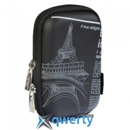 RivaCase Digital Case (7023PU Black Newspap)