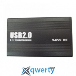 Maiwo для HDD 3.5 SATA USB 2.0 Black (K3502-U2S))