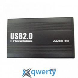 Maiwo для HDD 3.5 SATA USB 2.0 Black (K3502-U2S))
