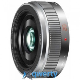 PANASONIC Lumix G 20mm f/1.7 ASPH metal body black (H-H020AE-K)