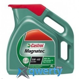 CASTROL MAGNATEC A3/B4 5W 40 4 л