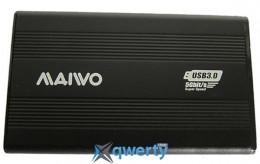 Maiwo для HDD 2.5 SATA USB 3.0 Silver (K2501A-U3S black)