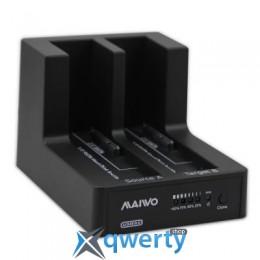 Maiwo для 2xHDD 2.5/3.5 SATA/SSD USB 3.0 (K3092-U3S)