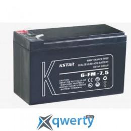 KSTAR 12В 7.5 Ач (6-FM-7.5)
