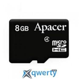 Apacer microSDHC Class4 8GB w/o Adapter RP (AP8GMCSH4-RA)