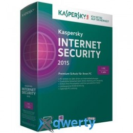 Kaspersky Internet Security 2015 Multi-Device 1 ПК 1 год Base Box (1-Device 1 year)