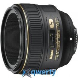 Nikon AF-S 58mm f/1.4G (JAA136DA) Официальная гарантия!