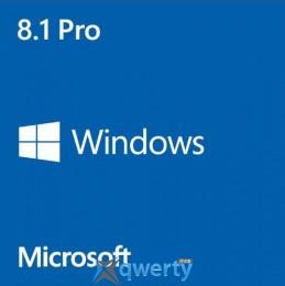Windows 8.1 Professional 64-bit Ukrainian 1 License 1pk OEM DVD (FQC-06996)