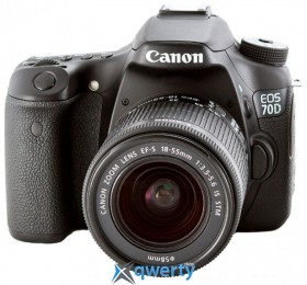 Canon EOS 70D 18-135mm IS STM WF