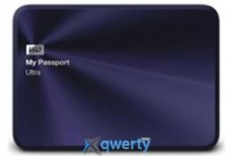 Western Digital My Passport Ultra Metal 1TB 2.5 USB 3.0 External Blue (WDBTYH0010BBA-EESN)