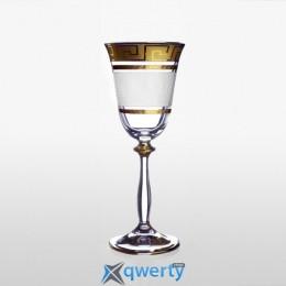 Angela набор бокалов для вина (Karo Kostka золото)