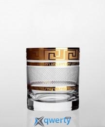 Barline набор стаканов для виски (Karo Kostka золото)