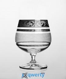 Christine набор бокалов для коньяка (Maharaja Karo платина)
