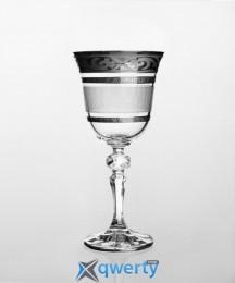 Christine набор бокалов для вина (Maharaja Karo платина)