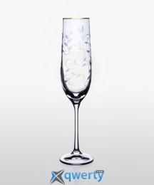 Viola набор бокалов для шампанского (Lido золото) 2 шт