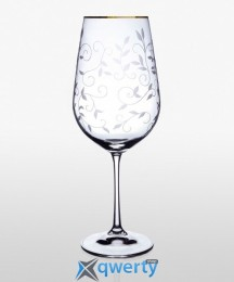 Viola набор бокалов для вина (Lido золото) 2 шт. 550