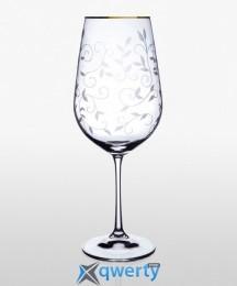 Viola набор бокалов для вина (Lido золото) 550